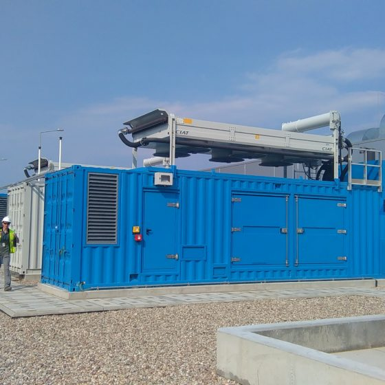 Flipo Energia - Przegląd agregatów prądotwórczych agregaty X3300 na silniku MTU serii 4000
