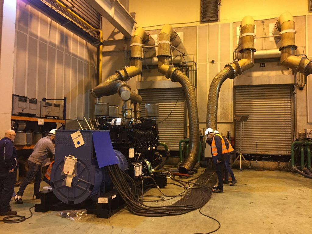 testy fabryczne urządzenia KD2500-F