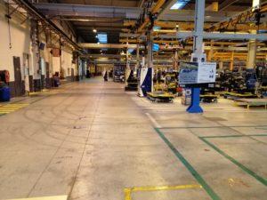 tests en usine du dispositif KD2500-F