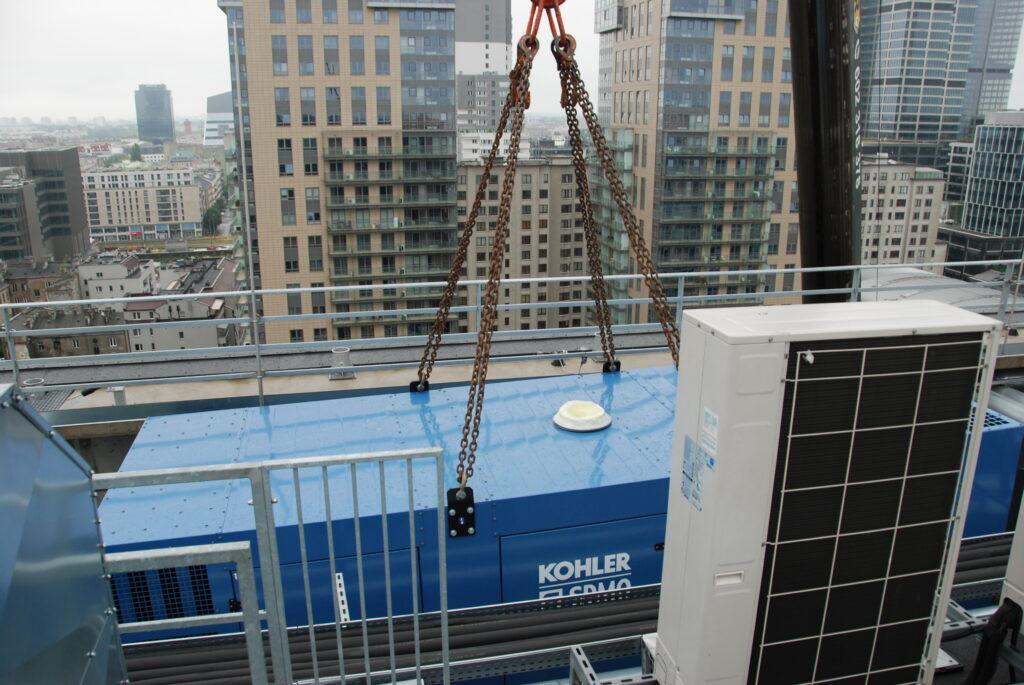 Budynek biurowy, Warszawa 2021, KD1100-F l Flipo Energia