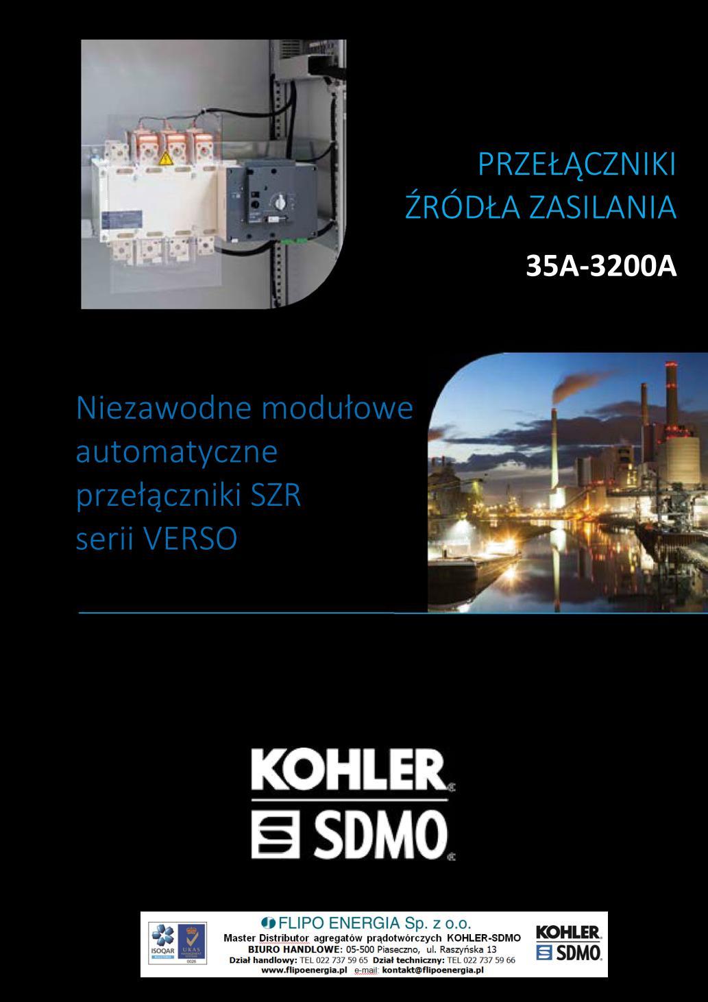 SZR KOHLER-SDMO VERSO - broszura - 20180511